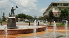 Palafox Street Pensacola - stock footage