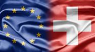 Eu and switzerland Stock Illustration