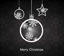 mary christmas. - stock illustration