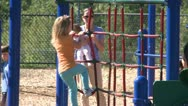 Stock Video Footage of Children playing on a playground (8 of 10)