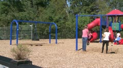 Fun playground (1 of 1) Stock Footage