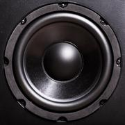 Bass speaker Stock Photos