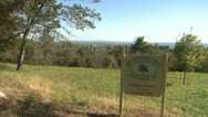 Newtown Forest sign (1 of 2) Stock Footage