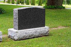 Grave headstone for sale.JPG - stock photo