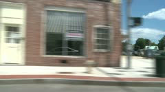 POV driving downtown (4 of 9) - stock footage