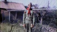 Black BOY SCOUT TEENAGE African American 1970 Vintage Film Home Movie 6346 Stock Footage