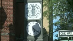 New Rochelle clock tower (1 of 1) Stock Footage