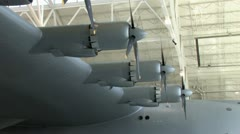 1080p Spruce Goose Wing Stock Footage