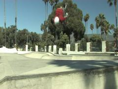 Stock Video Footage of Backflip plus 360 on a BMX