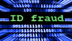 Id fraud Stock Footage