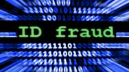 Stock Video Footage of id fraud