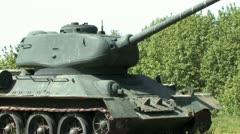1080p WW2 Tank 7 Stock Footage