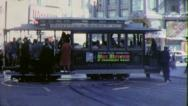 CABLE CAR San Francisco Street 1963 (Vintage Film Old 8mm Home Movie) 6354 Stock Footage
