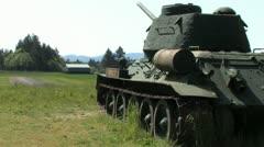 1080p WW2 Tank 8 Stock Footage
