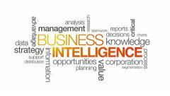 Business Intelligence - stock footage
