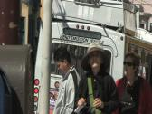 Stock Video Footage of People walking on streets of Mexico Town - San Francisco