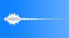 Bending metal whoosh 2 - sound effect
