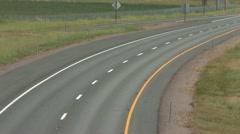 720p HWY 5 Freeway Traffic 5 Stock Footage
