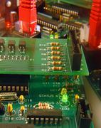 hardware board - stock photo