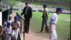 BASEBALL LITTLE LEAGUE Team Boys 1960 (Vintage Old Film Home Movie) 6374 Stock Footage