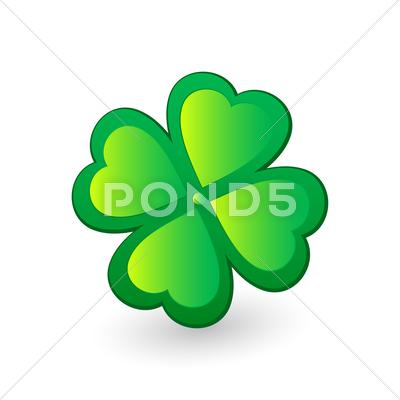 Stock Illustration of clover 4