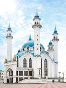 Kul sharif mosque in kazan kremlin - russia Stock Photos