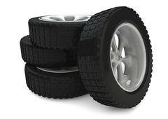 Stock Illustration of tires 1