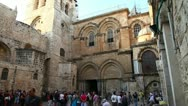 Stock Video Footage of Church of the Holy Sepulchre