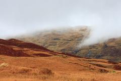 Highland hills near loch katherine, trossachs, scotland Stock Photos