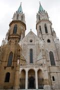 stiftskirche klosterneuburg, niederösterreich - stock photo