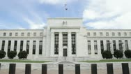 Stock Video Footage of United States Federal Reserve
