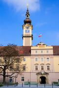 linz - landhaus / upper austrian landtag - stock photo
