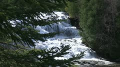 Amazing Waterfall Stock Footage