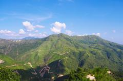 beautiful hill of chinese Nanling ridge,Guangdong pro - stock photo