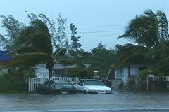 Hurricane Flooding Stock Footage