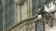 Germany - Bavaria - Regensburg Cathedral Stock Footage