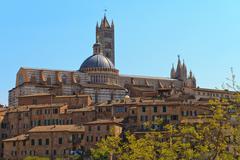 Stock Photo of siena dome / cathedral (duomo di siena), italy