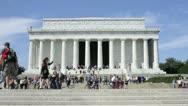 Lincoln Memorial, Washington, DC Stock Footage