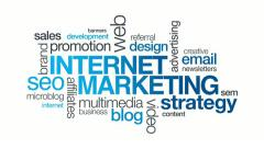 Internet Marketing - stock footage