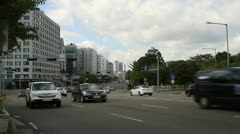 Traffic in Seoul Stock Footage