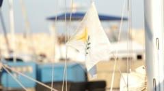 Cyprus flag Stock Footage