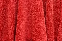 Stock Photo of red hand towel