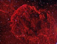 jellyfish nebula - stock photo