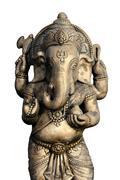 the indian god ganesha at chiang mai, thailand.. - stock photo