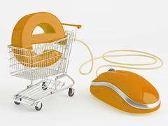 E-commerce Stock Illustration