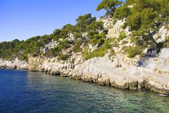 Creeks in cassis, france Stock Photos