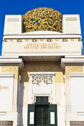 Secession building, vienna, austria Stock Photos
