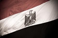 Egyptian flag Stock Photos