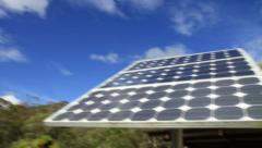 Move on to Solar Panels GFHD Stock Footage
