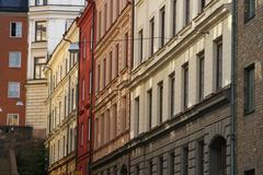 Stockholm buildings - stock photo